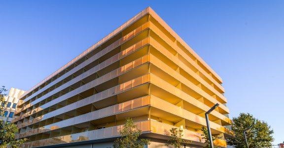 Résidence Newton à Toulouse, lauréate du Prix du Bâtiment Connecté